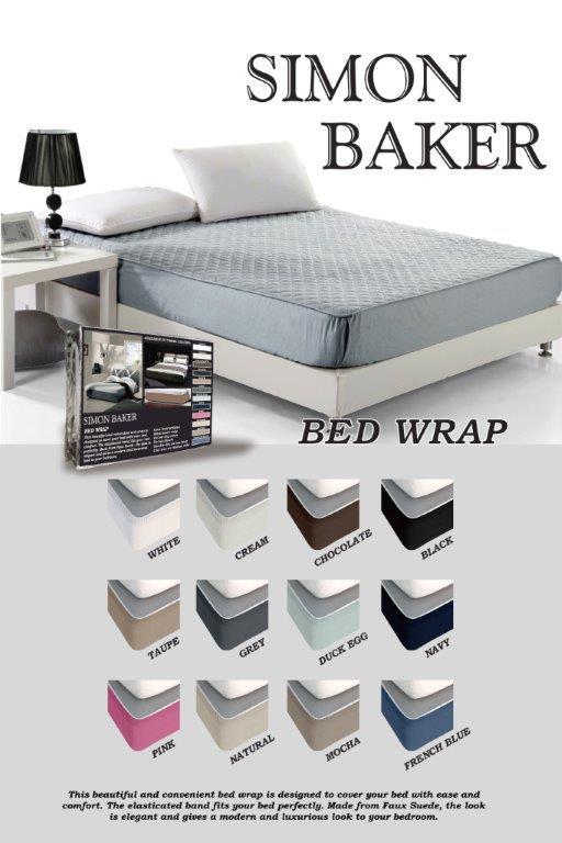 Suede Bed Wraps Emirates Textiles